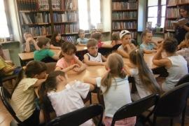 Lekcja biblioteczna dla klas drugich
