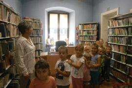 Wakacyjna wizyta przedszkolaków