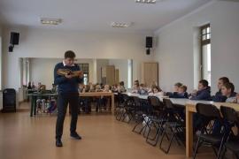 Warsztaty literackie z Łukaszem Dębskim