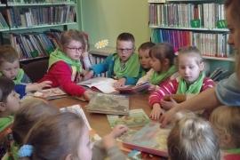 Wycieczka dzieci z Przedszkola nr 2