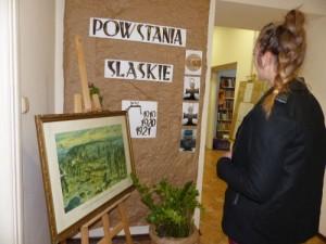 Wystawa wMBP opowstaniach śląskich