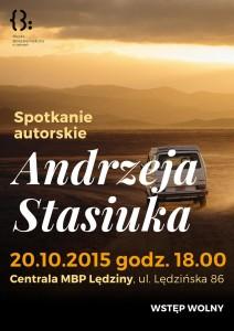 Spotkanie autorskie Andrzeja Stasiuka