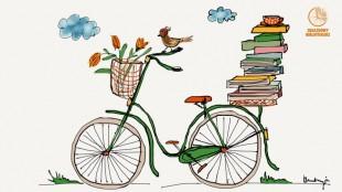 """Rajd rowerowy """"Weź gazetę na łąkę"""""""