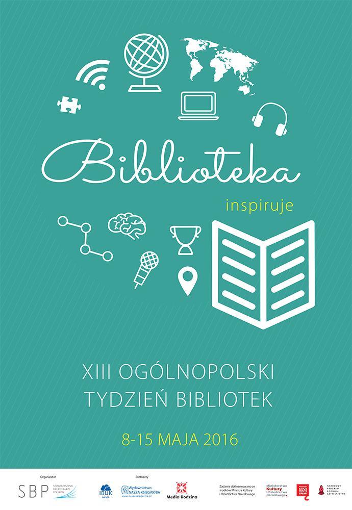 XIII Ogólnopolski Tydzień Bibliotek