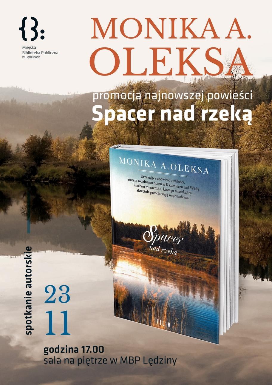 Spotkanie autorskie zMoniką Oleksą