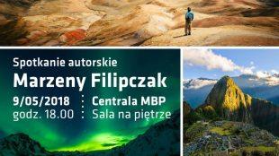 Spotkanie autorskie Marzeny Filipczak