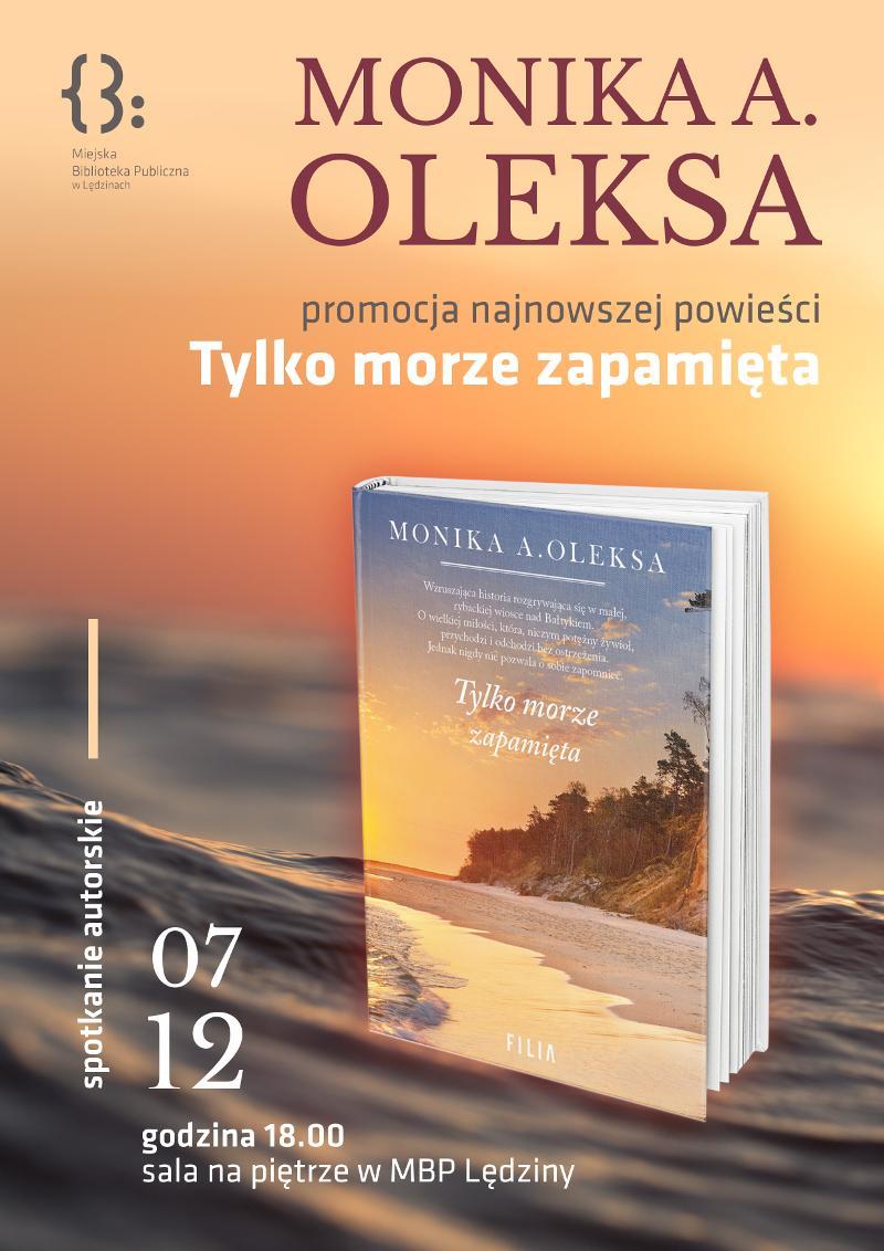 Spotkanie zMoniką Oleksą
